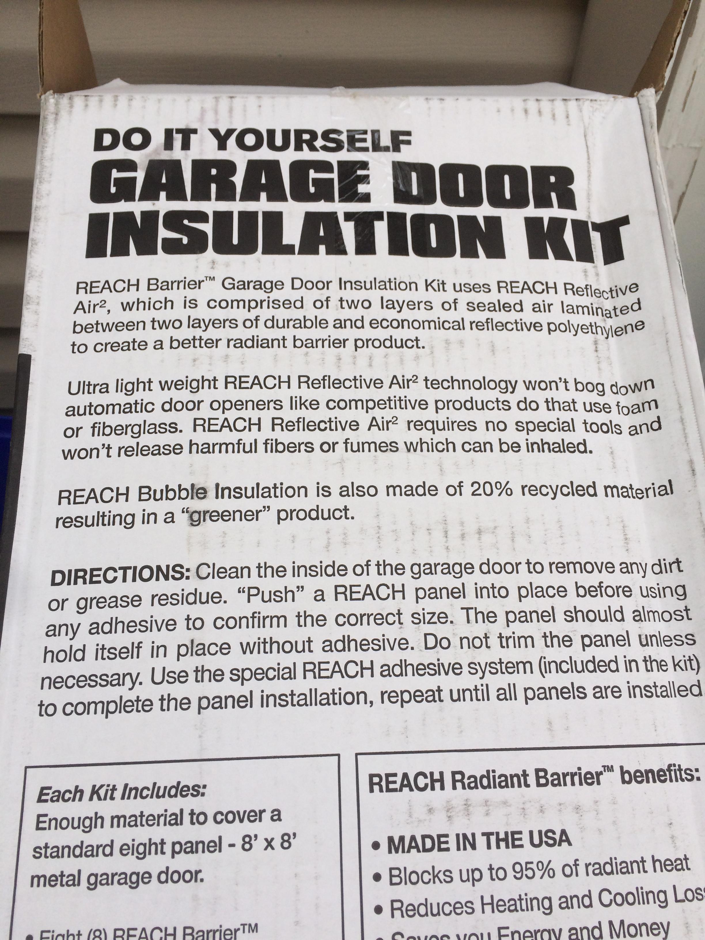 Insulating the garage door project sittin and wishin img4898 rubansaba